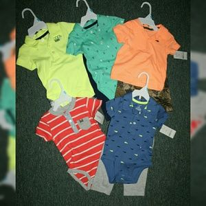 Carter's Boy's 6 months bundle